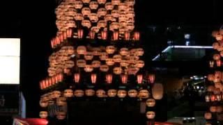 ネットで花見「犬山祭り」宵祭り