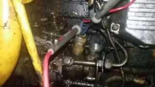 7. How to test Solenoid / Injection Pump Fuel Cut Off