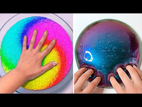 Relaxing Slime Compilation ASMR | Oddly Satisfying Video #222