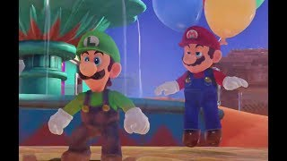 Mario's Balloon World in Super Luigi Odyssey |  Desert kingdom