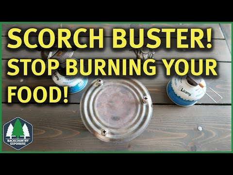 DIY Scorch Buster | Stop Burning Food!