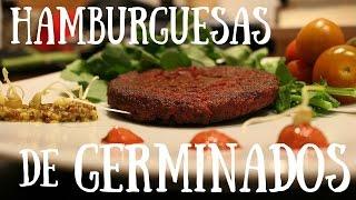 Hamburguesas germinados