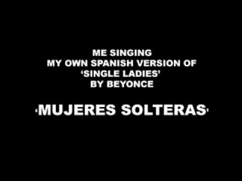Tekst piosenki Beyonce Knowles - Single Ladies (wersja hiszpańska) po polsku