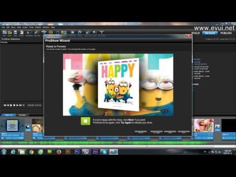 Hướng dẫn làm với phần mềm Proshow Producer