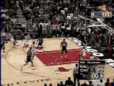 Michael Jordan 3point Buzzer vs. Spurs - NBA Season 1997/1998