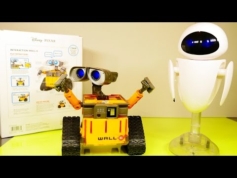 meets - Wall E Interactive Toy Robot Meets Eve !! DCTC !! Check out more of our Play Doh Videos by Disney Cars Toy Club below! PLAY DOH Surprise Eggs Videos DCTC Halloween Special Moofia Disney ...