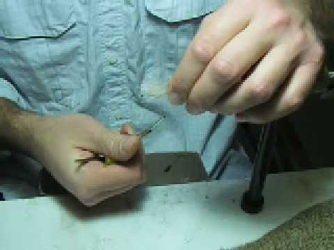 Fuller's NBOC - Fly Tying  Video #3 part 2 with Jamie C...