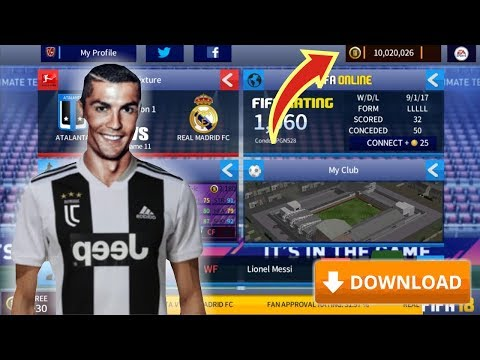 FIFA MOBILE Soccer MOD APK Download V10.6.00 | GET MESSI [ Unlimted Coins + PLAYERS UNLOCKED]