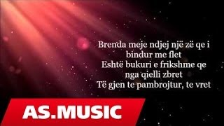 Alban Skenderaj - Bukuri E Frikshme (Official Lyric Video)