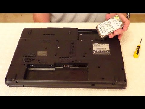 , title : 'How To Replace A Laptop Hard Drive: Toshiba Satellite L350'
