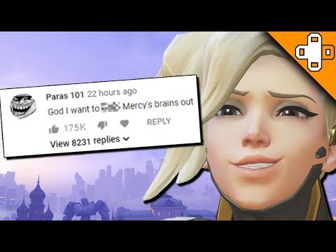 Mercy Reads The Comments Section - Overwatch Funny & Epic Moments 700