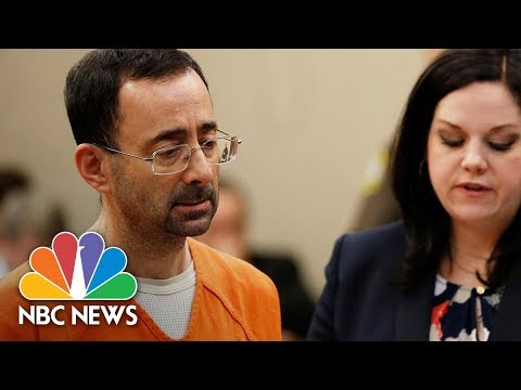 Former USA Olympics Doctor Larry Nassar: 'I'm So Horribly Sorry' For Abusing Girls | NBC News