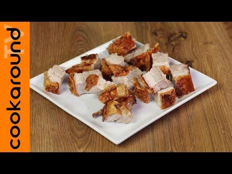 pancetta di maiale croccante al forno - la videoricetta