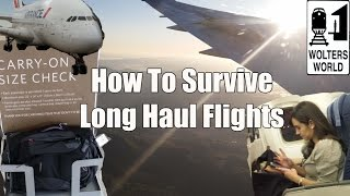 How to Survive Long Haul Flights - Travel Tips, Hacks & Tricks full download video download mp3 download music download