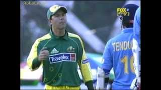 Sachin &amp; Ponting ugliest incident, recalled to the wicket by umpire