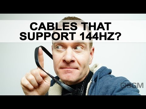 #558 - Q&A: Cables That Support 144Hz?