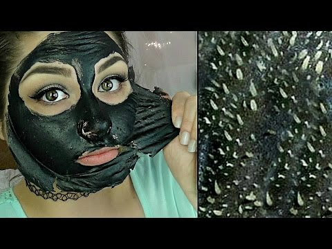 Easy DIY Blackhead Remover Peel Off Mask REMOVES EVERYTHING | BeautyByJosieK