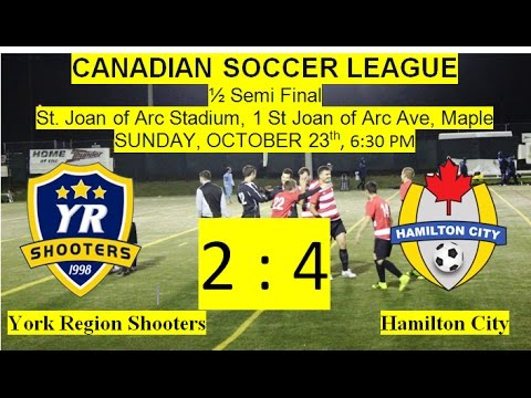 York Region Shooters vs Hamilton City