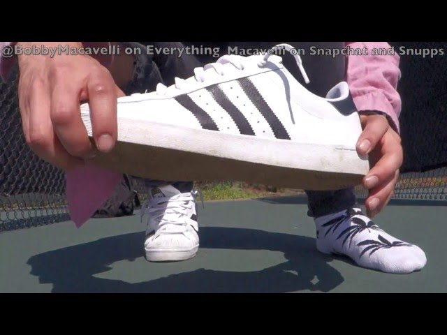 Cheap Adidas SUPERSTAR VULC ADV SKATE SHOES (White \\ u0026 Collegiate