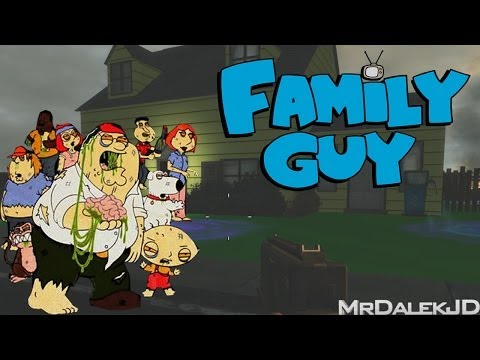 waw - FAMILY GUY Custom Zombies Map! WOO! ○Lets go for 1500 likes! Can we do it? :D ○Subscribe - http://bit.ly/VNLqYy ○Map DL Link - http://www.zombiemodding.com/...