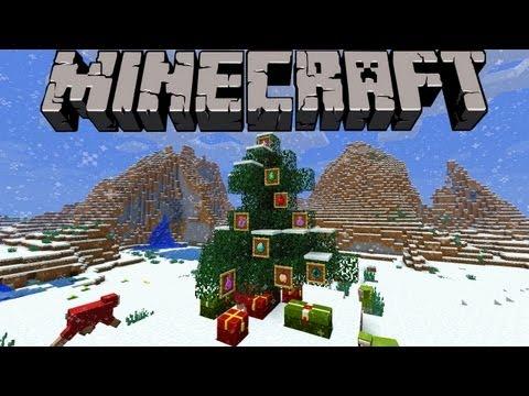 Minecraft Christmas Secrets! (1.4.6 Snapshot 12w50a)
