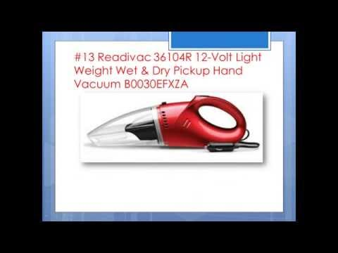 Portable Wet & Dry Power Vacuum Cleaner, Cordless, Hurricane HPV12 (Car Adaptor Included)