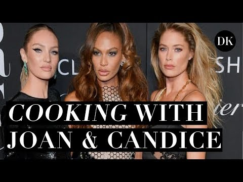 COOKING WITH JOAN & CANDICE + OUR SIMILARITIES  • DOUTZEN DIARIES