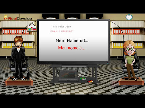 alemão - aprender alemão através de expressões e vocabulário multiple languages at ... http://www.realdevelop.com/ exchange languages, video Lyrics, discussion forum,...