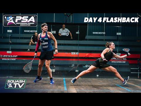 Squash: Manchester Open 2020 Flashback - Day 4