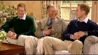 Video Prince William, Prince Harry & The Prince of Wales interview with Ant and Dec MP3, 3GP, MP4, WEBM, AVI, FLV Oktober 2017