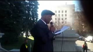 Artist Ayalew Mesfin's Emotional Speech