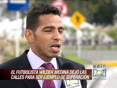 Wilder Medina habla sobre su vida y su futuro en el fútbol