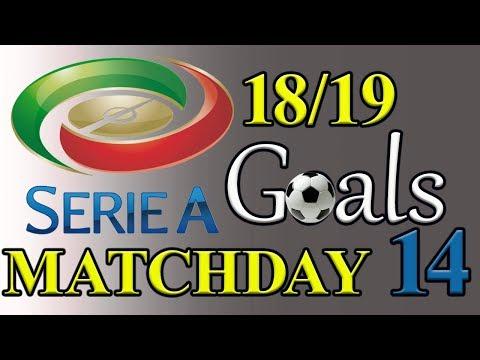 Serie A Season 18/19 Matchday 14 Goal Highlights