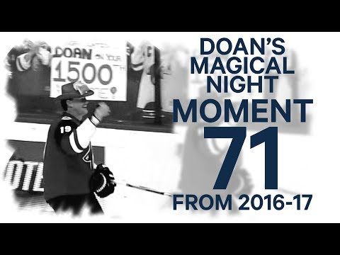 Video: No. 71/100: Doan scores 400th goal in 1500th game