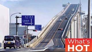 Przejazd tym mostem jest tak przerażający, że kierowcy dostają ataku paniki! Zobacz dlaczego!