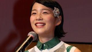 能年玲奈 いきなり 「あまちゃん」天野アキに!「11月の海に突き落としてくれてありがとうございます」 - YouTube
