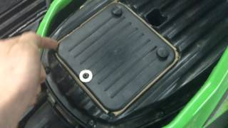 9. How To Remove Air Filter On 2011 Arctic Cat 450