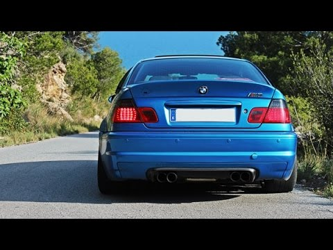 BMW M3 E46 - START-UP, REVS, DRIFT, Donuts and more !!