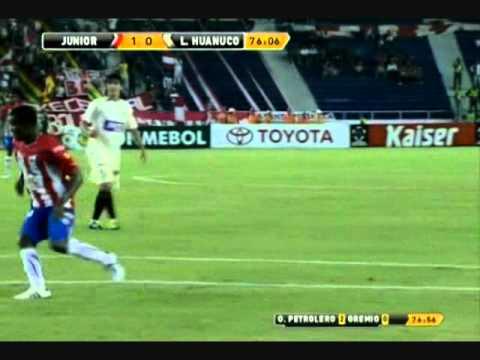 Copa Libertadores en el estadio Metropolitano Roberto Meléndez