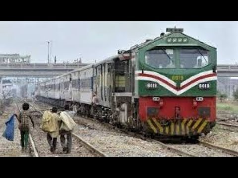 karachi cantt railway station pak business express departing for lahore