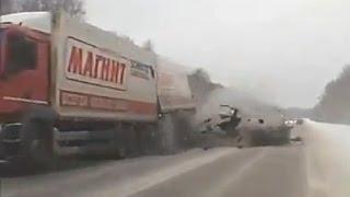 Подборка жестких аварий первой недели Января