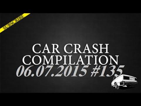 Car crash compilation #135 | Подборка аварий 06.07.2015