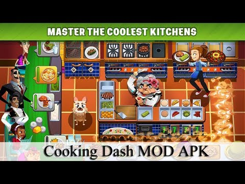 Cooking Dash Mod Apk 2.18.2 NO ROOT 2019 (Unlimited Gold)