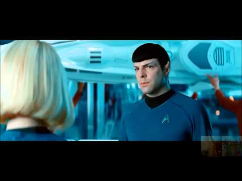 Star Trek Into Darkness - Enterprise Drops Out of Warp