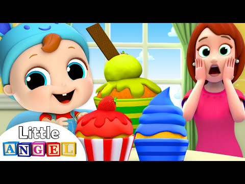Baby's Snack Time! | Muffin Man Song | Nursery Rhymes by Little Angel - Thời lượng: 3 phút, 26 giây.