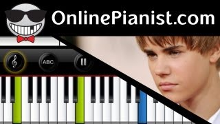 Download Lagu Justin Bieber - Nothing Like Us [Believe Acoustic Album] - Piano Tutorial Mp3