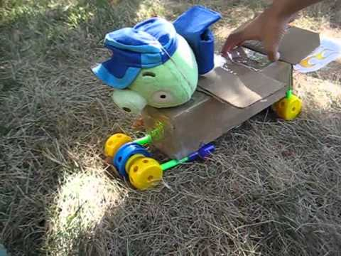 Angry Birds Go Plush Outdoor Race!!!