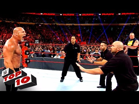 Top 10 Raw moments: WWE Top 10, Nov. 14, 2016