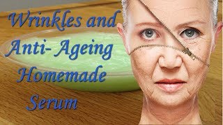 Best anti aging skin care homemade serum\\ get wrinkles free glowing and fair skin(100% results)