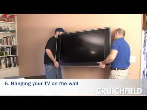 How to Wall-Mount an LCD or Plasma TV